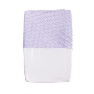 lavender baby change pad cover